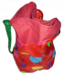 busking bag large coloured