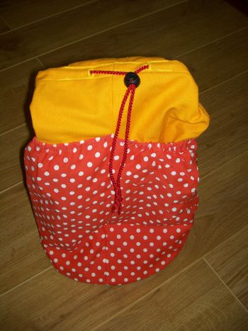 busking bag medium coloured